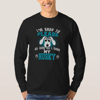 Funny Husky Dog Owners T-Shirt