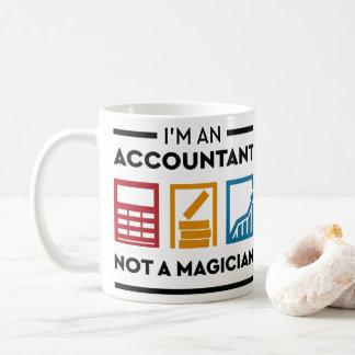 Funny I Am An Accountant Not A Magician Coffee Mug