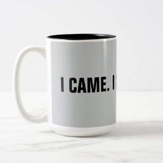 "Funny ""I Came. I Saw. I Cited"" 15 oz. Mug"