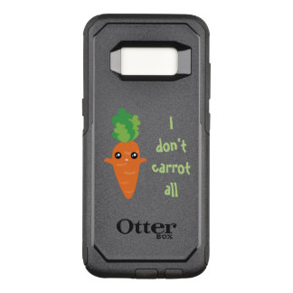 Funny I don't Carrot All Punny Cute Food Pun Humor OtterBox Commuter Samsung Galaxy S8 Case