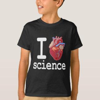 Funny - I Heart Science T-Shirt