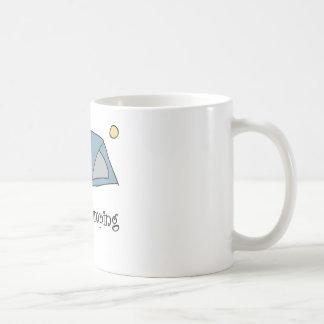 Funny I Love Camping Classic White Coffee Mug
