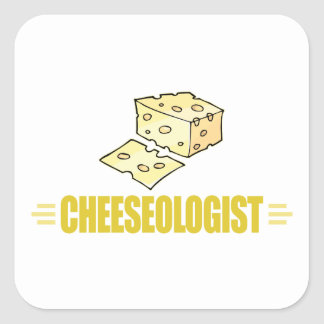 Funny I Love Cheese Stickers