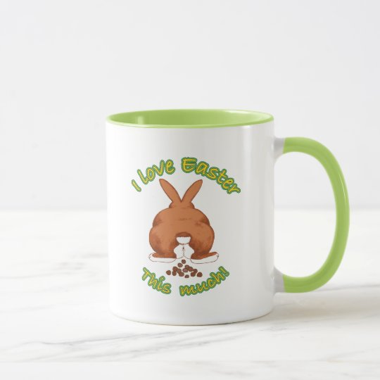 Funny I Love Easter This Much Mug