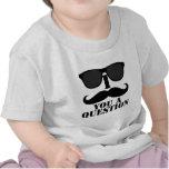 Funny I Moustache You A Question Black Sunglasses