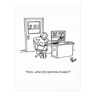 Funny I.R.S. Humor Postcard