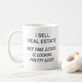 Funny I Sell Real Estate Coffee Mug