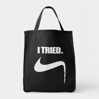 Funny I Tried and Failed Tote Bag