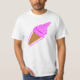 Funny Ice Cream Tee Shirt for Men