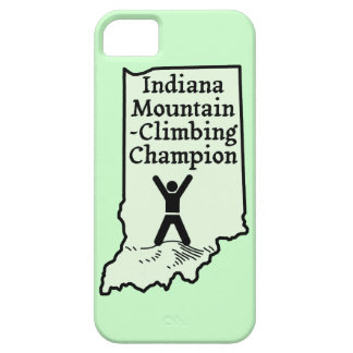 Funny Indiana Mountain Climbing Champion iPhone 5 Covers
