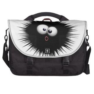 Funny Ink Splat Cartoon Laptop Bag