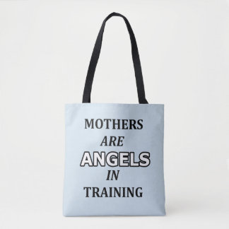 Funny inspirational gift for mother tote bag