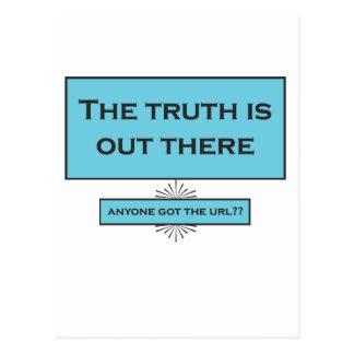 Funny internet quotation postcard
