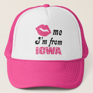 Funny Iowa Trucker Hat