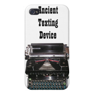 Funny iPhone Case Typewriter Ancient Texting iPhone 4/4S Cases