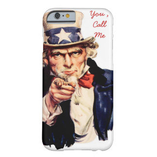 funny iPhone cover,call me Barely There iPhone 6 Case