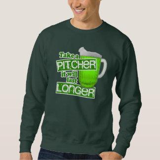 Funny Irish Green Beer Humor Sweatshirt