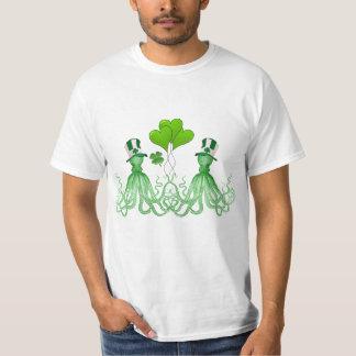 Funny Irish octopi St Patrick's day T-Shirt
