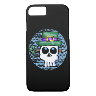 Funny Irish Skull Cartoon iPhone 8/7 Case