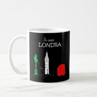 Funny Italian Londra London Love Unique Stylish Coffee Mug