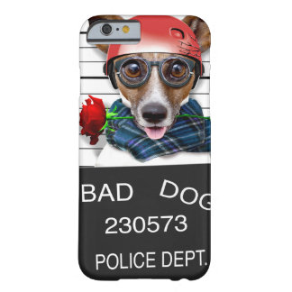 Funny jack russell ,Mugshot dog Barely There iPhone 6 Case
