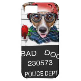 Funny jack russell ,Mugshot dog Case For The iPhone 5