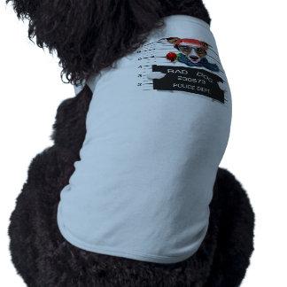Funny jack russell ,Mugshot dog Dog T-shirt