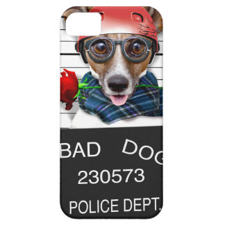 Funny jack russell ,Mugshot dog iPhone 5 Covers