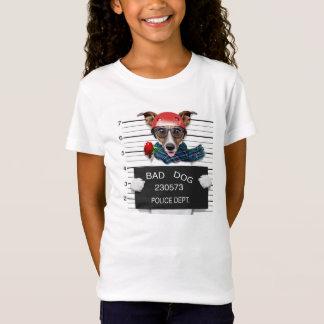 Funny jack russell ,Mugshot dog T-Shirt