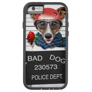 Funny jack russell ,Mugshot dog Tough Xtreme iPhone 6 Case