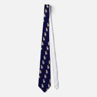 Funny Jack Russell Terrier Puppy Dog Tie