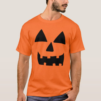 Funny Jackolantern Face Pumpkin T-Shirt