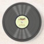 Funny Jazz Vinyl Record Coasters
