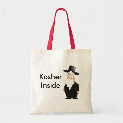 Funny Jewish rabbi - cool cartoon Bag