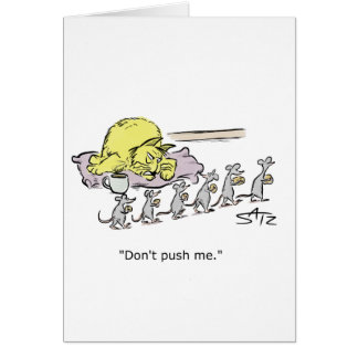 Funny Julius Katz birthday greeting card