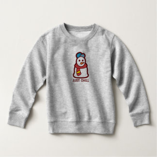 Funny Just Chill Snowman | Sweatshirt
