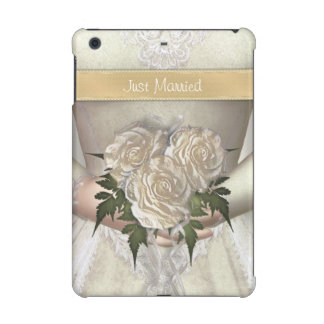 Funny Just Married Bride iPad Mini Retina Cases
