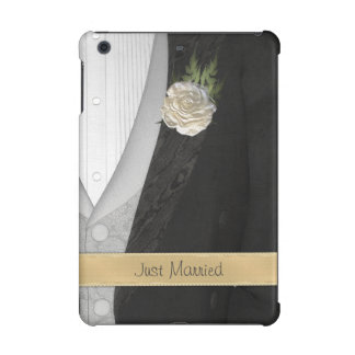 Funny Just Married Groom iPad Mini Retina Cover
