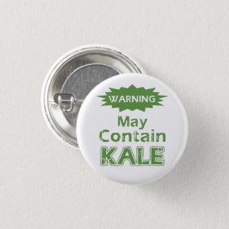 Funny Kale 1 Inch Round Button