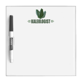 Funny Kale Dry Erase Whiteboard