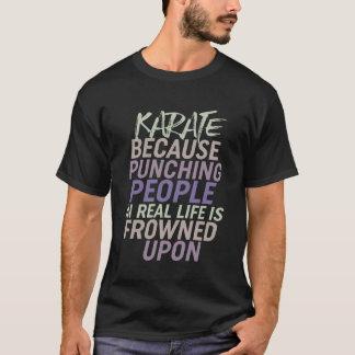 Funny Karate Self Defense Sport T-shirt