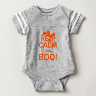 Funny Keep Calm Boo Scary Halloween Party T-shirt
