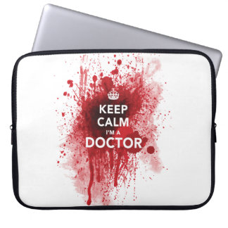 Funny 'Keep Calm, I'm a Doctor' Computer Case