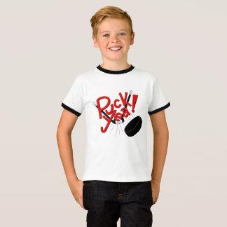 Funny Kids Hockey Shirt