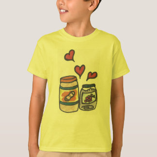 Funny Kid's Peanut Butter and Jelly T-Shirt