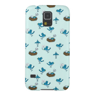 Funny Kid's Social Media Birds Samsung Galaxy Case
