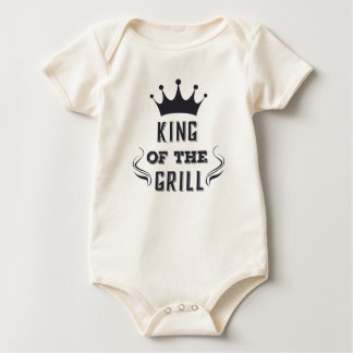 Funny King of the Grill Bodysuit