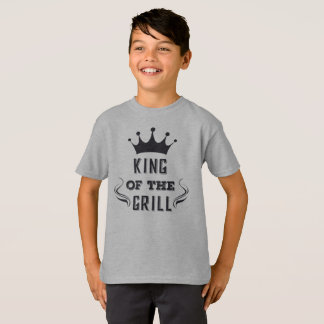 Funny King of the Grill Tagless Shirt
