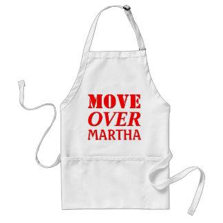 Funny Kitchen Chef Humor Move Over Standard Apron