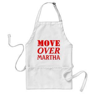 Funny Kitchen Chef Humour Move Over Standard Apron